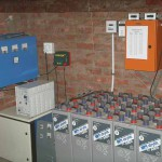 Batteries & Control room