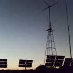 Solar panels at Dawn